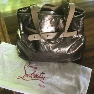 🤩Metallic bronze Christian Louboutin handbag